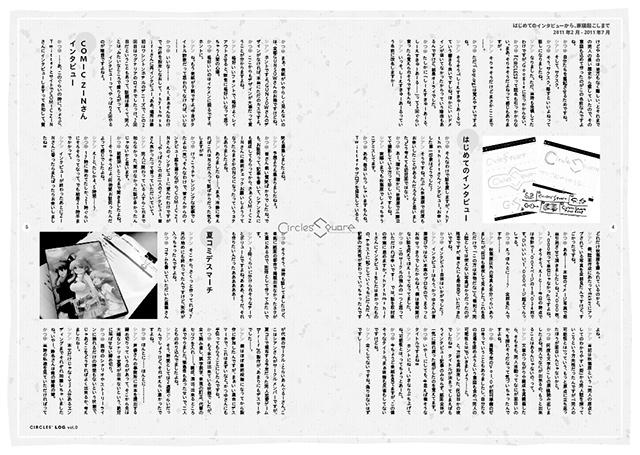 『CIRCLES' LOG vol.0』サンプルイメージ(2/3)