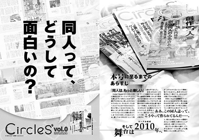 『CIRCLES' LOG vol.0+1+2』サンプルイメージ(2/6)