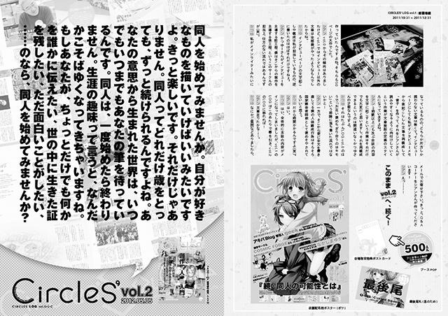 『CIRCLES' LOG vol.0+1+2』サンプルイメージ(5/6)