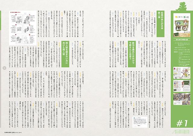 『CIRCLES' LOG 2012-2015』サンプルイメージ(2/9)