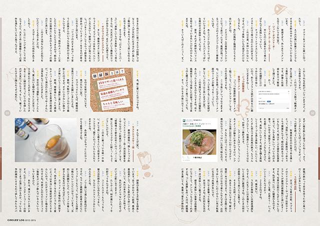『CIRCLES' LOG 2012-2015』サンプルイメージ(7/9)
