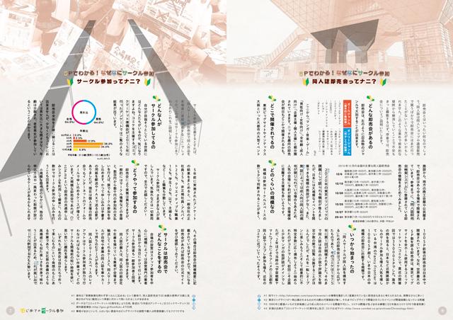 『はじめてのサークル参加』サンプルイメージ 5Pでわかる! なぜなにサークル参加
